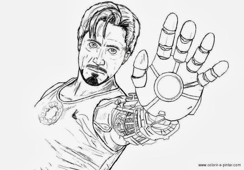 Desenhos Do Homem De Ferro Pictures To Pin On Pinterest