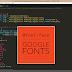 Menambahkan Font Eksternal Kedalam Web dan Cara Menggunakannya