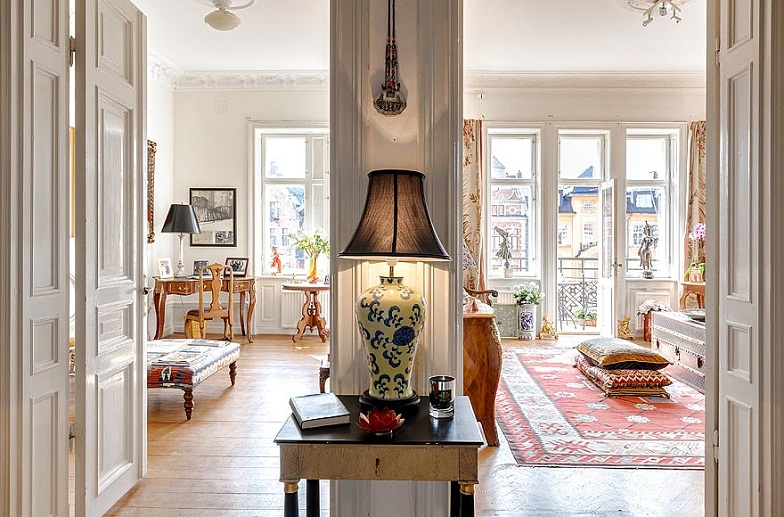 Swedish Style decor inspiration : gustavian swedish style | cool chic style fashion