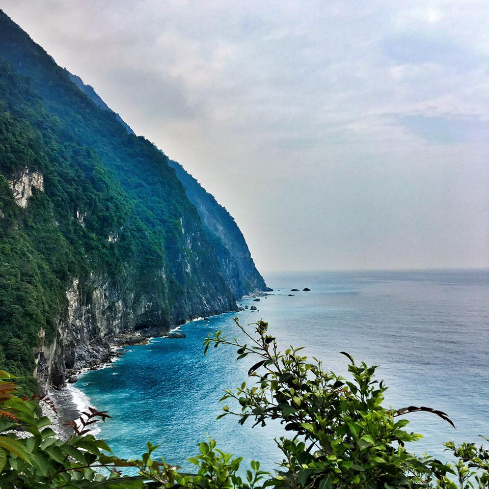 Travel with Crystal- 4 days in Taiwan- Ch'ing Shui Cliff