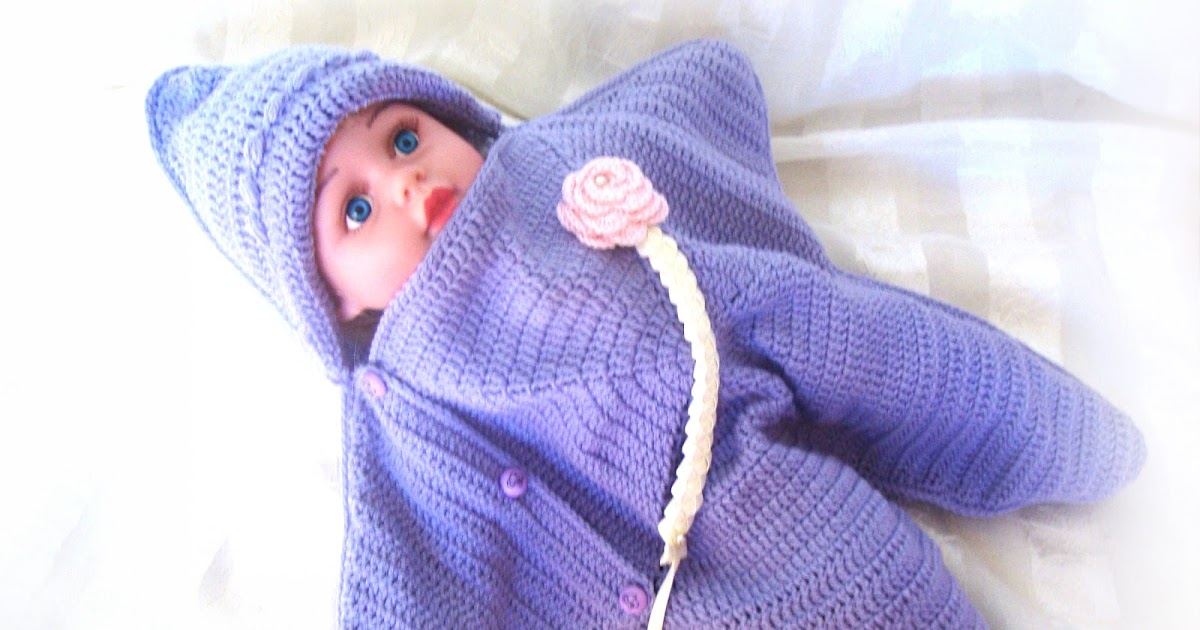 Tinas Handicraft Cocoon Starfish Baby Blanket Newborn 6