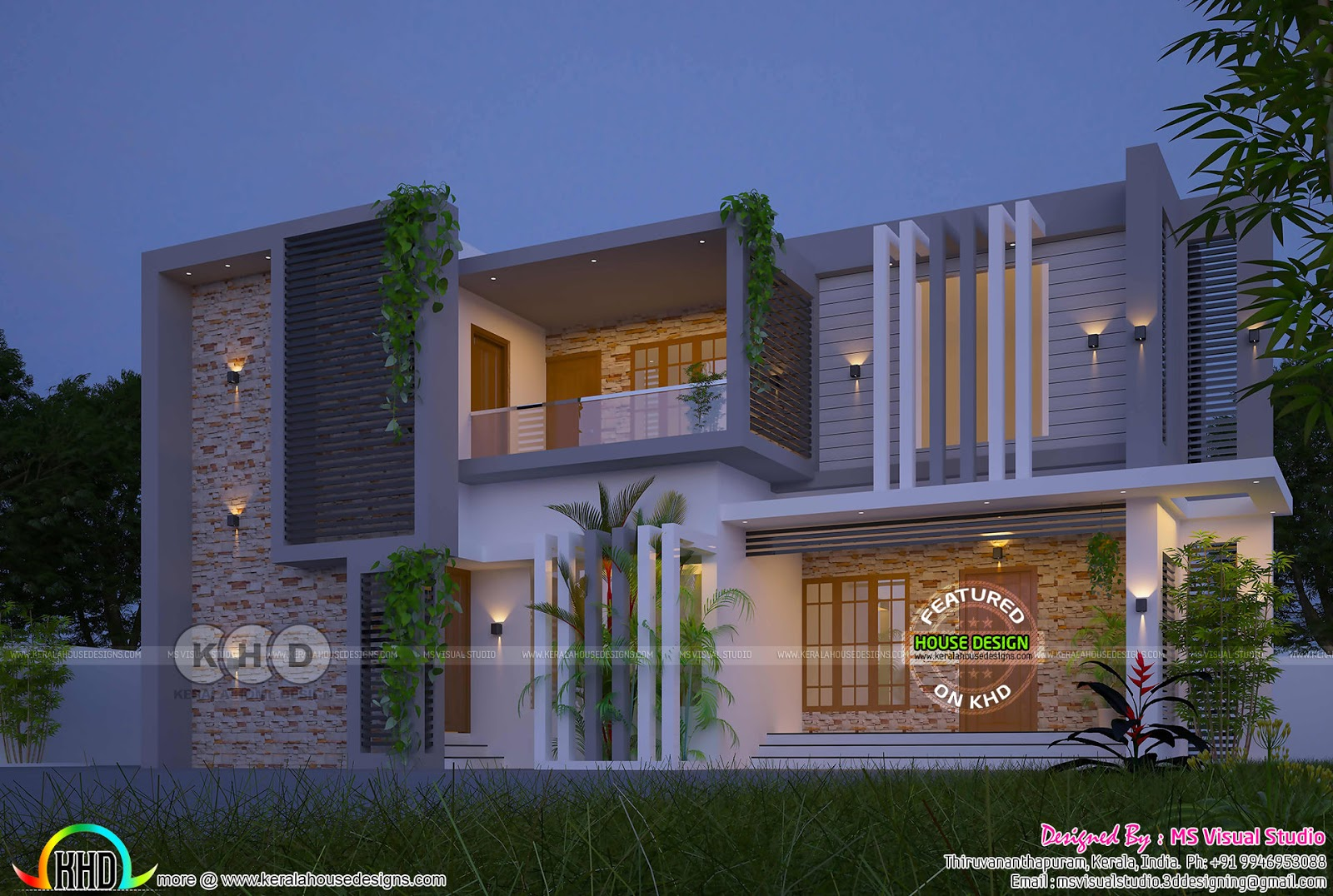 October 2018 House Plans Starts Here 2622 Sq Ft Contemporary Home