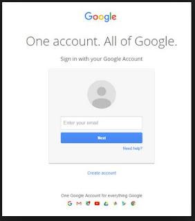 masuk akun gmail
