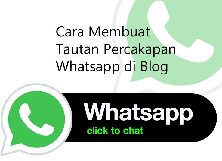 Cara Membuat Tautan Percakapan Whatsapp di Blog