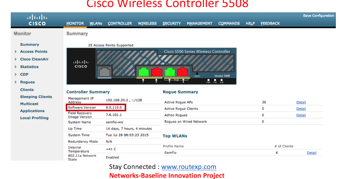 Introduction to Wireless Controllers : Cisco WLC5520 Vs Cisco WLC