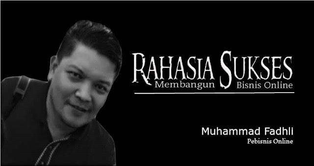 Muhammad Fadhli, Pebisnis Online