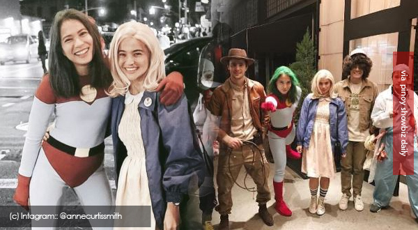 Anne Curtis and more celebrities dress up  for Halloween 2016