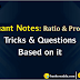 Important Concepts Of Ratio & Proportion Questions For RRB Stage - II
