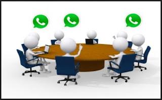 fitur grup chat whatsapp