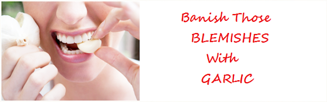 Banishing- blemishes-zits- with-garlic Barbie's --Beauty --Bits