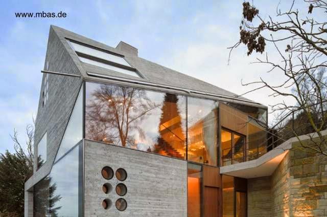Casa contemporánea de concreto en Stuttgart Alemania 2012