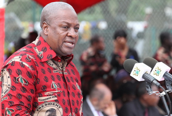 No need to panic about Terror Attack - Mahama