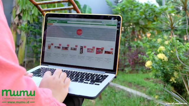 Belanja Grocery Online Indonesia Di Mumu Sangatlah Mudah