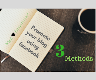 Promote your blog using facebook