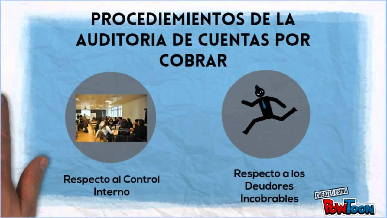 Auditoría I: AUDITORIA DE CUENTAS POR COBRAR