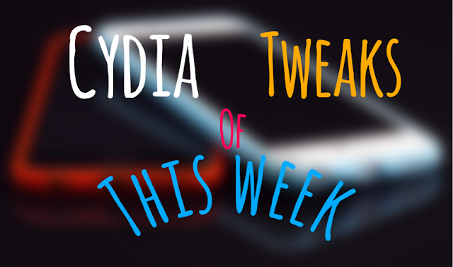 What's up guys! Now it's time to look up the new iOS 9 cydia tweaks released which you might missed in this week