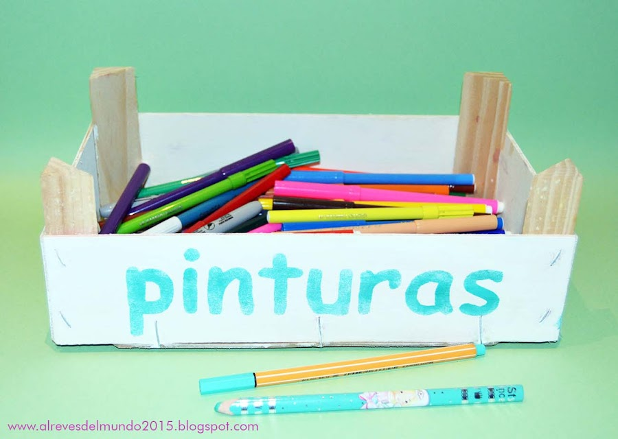 manualidades niños decoracion caja