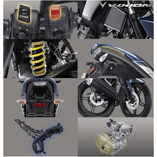 Fitur Spesifikasi Yamaha Vixion New