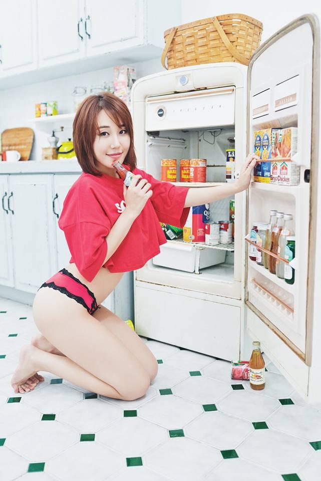 Korean Model Jung Yu Jung on Magazine Jan 2017