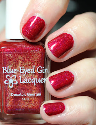 Blue-Eyed Girl Lacquer BEGL I Fought For My Soul
