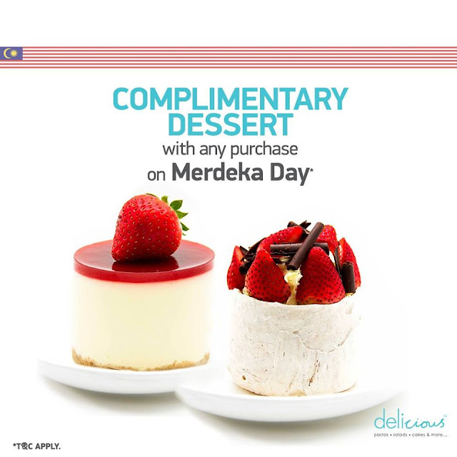 complimentary desserts in merdeka day with delicious malaysian foodie
