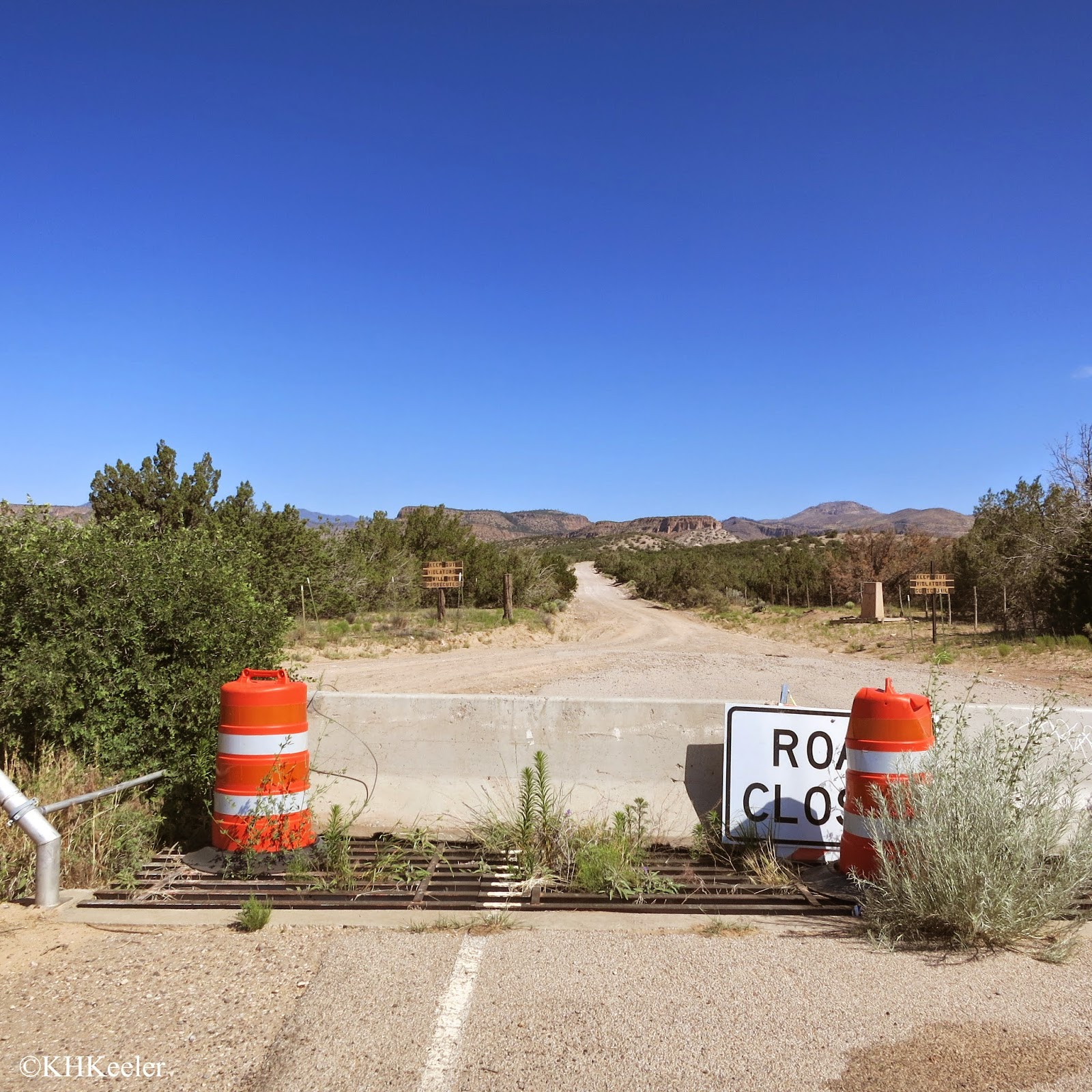 Road Closed! Eastern New Mexico