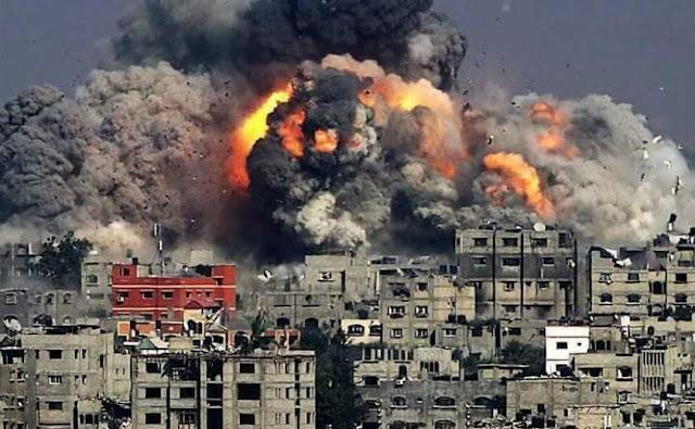 صور من الواقع العدوان العلوي وبشار تصب صورايخها الحاقدة على الغوطة