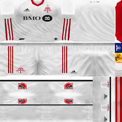 PES 6 Kits Toronto FC Season 2017/2018 by Rodry90 Kitmaker