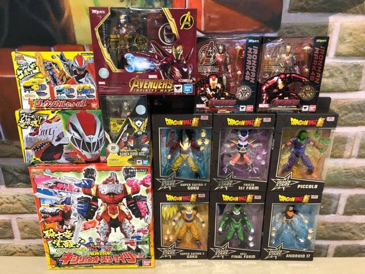 Ftc New Arrival Dx Kishiryuo Ryusoul Set 01 Shf Ironman Mark 50