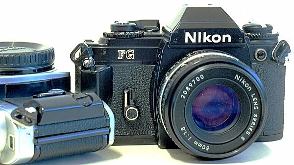 Nikon FG, View