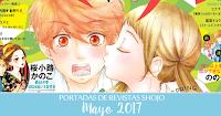 Portadas de Revistas Shojo Mayo 2017