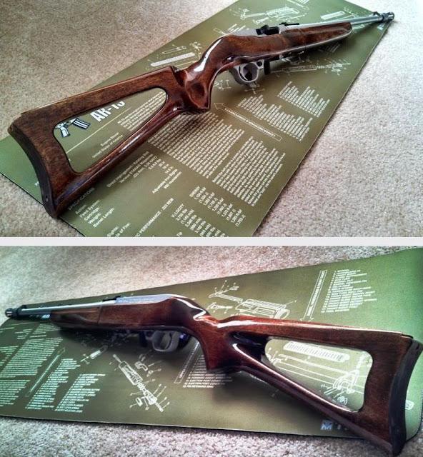 TINCANBANDIT's Gunsmithing: Project Pink 10/22 Stock 1.0