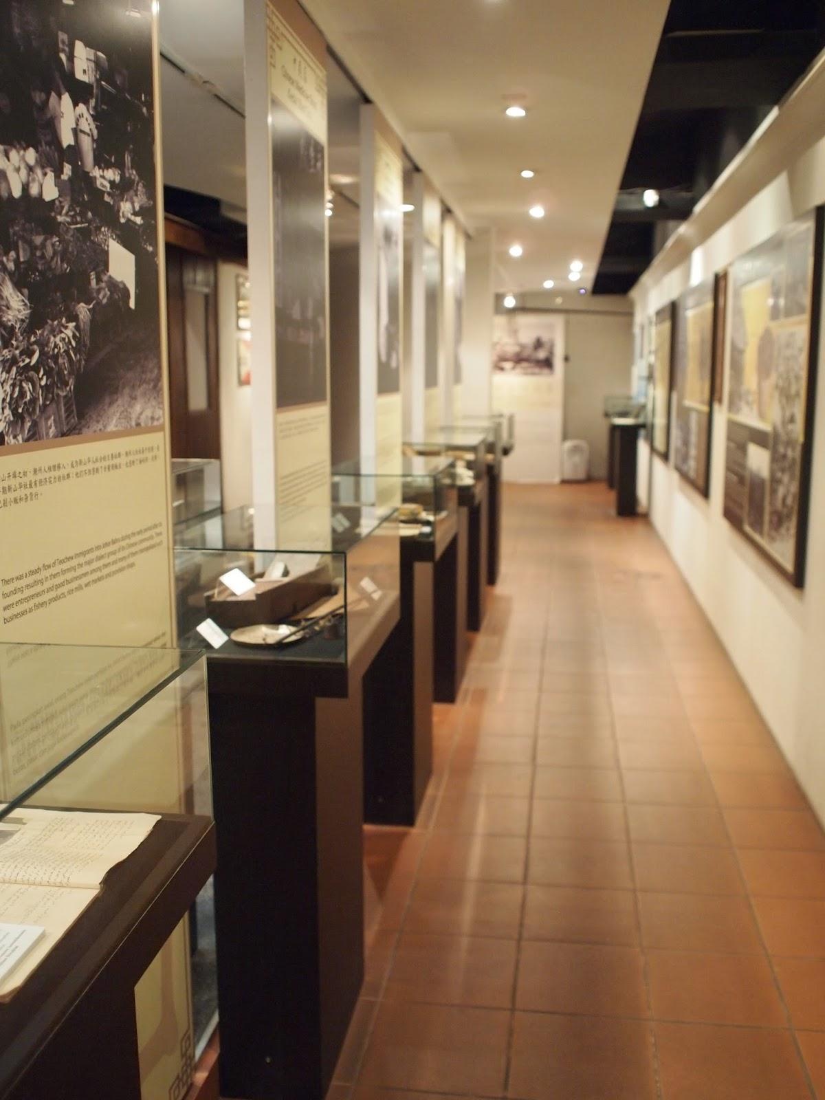 Muzium Warisan Tionghua - Ruang Pameran Yang Kemas Dan Teratur