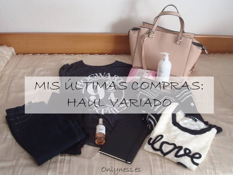 ultimas compras haul variado
