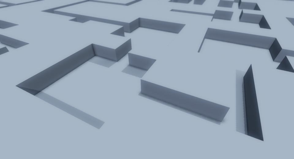 Voxel Frog: Procedural Geometry Dungeon Generator