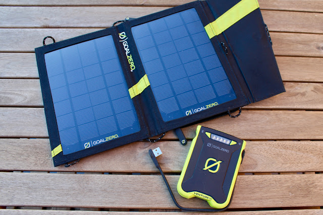 Review Goal Zero Nomad 7 Solar Panel Charger and Venture 30 Power Bank
