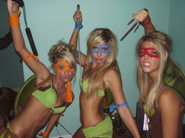 Naked Ninja Babes 89