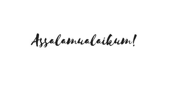Arti Assalamualaikum, Assalamualaikum Tulisan Arab dan ...