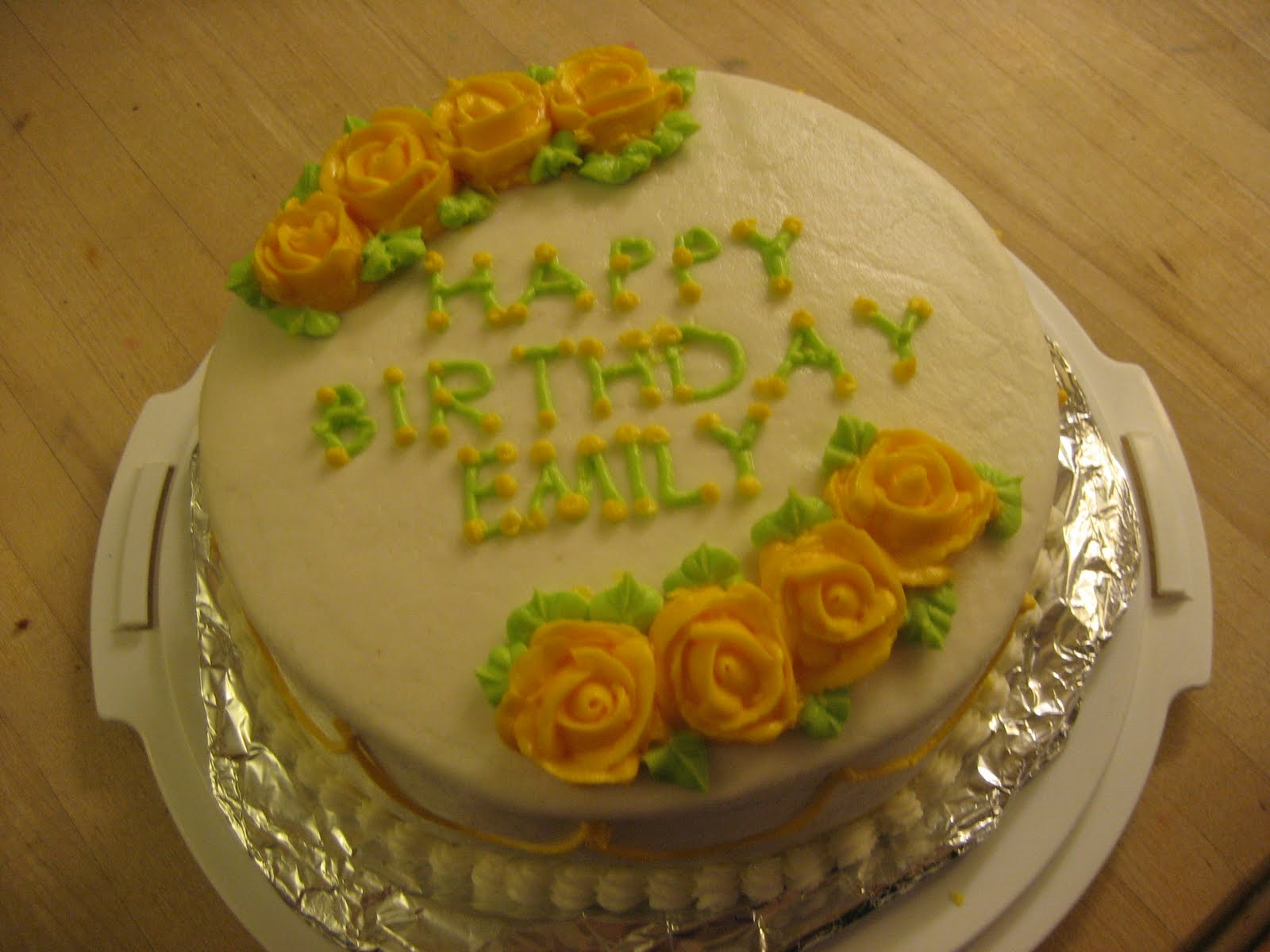 The Pastry Chef: Happy Birthday Emily