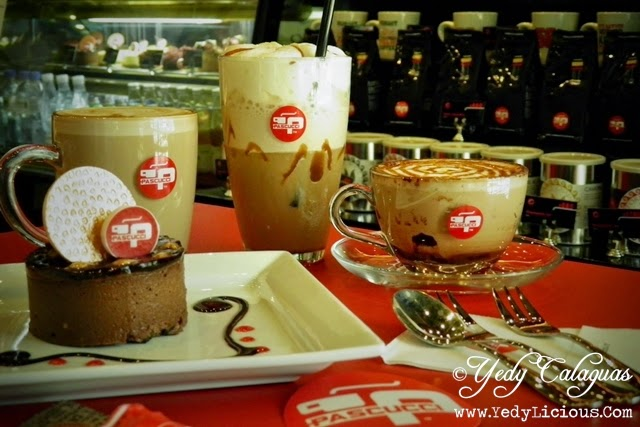 Caffe Pascucci Shop Manila Philippines. Italian Coffee Shop in Manila. Caffe Pascucci Shop Branches in Glorietta and Robinsons Galleria.