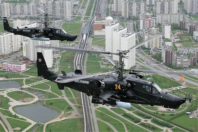 "Helikopter Kamov Ka-50 ""Black Shark"""