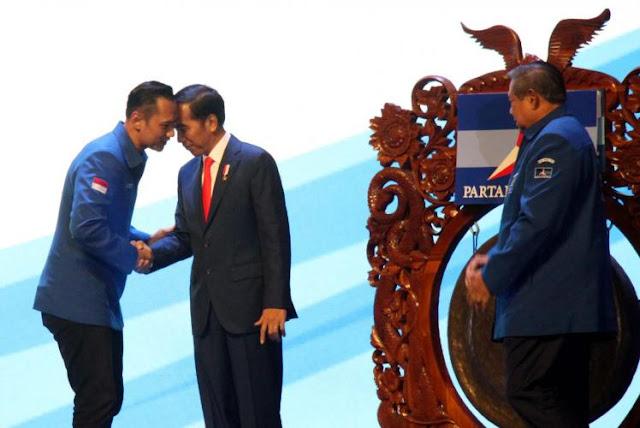 Jokowi Ajak AHY Mendampinginya