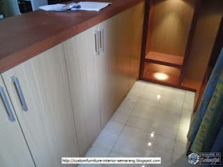 Kontraktor Interior  - Kitchen Set, Minibar, Divider