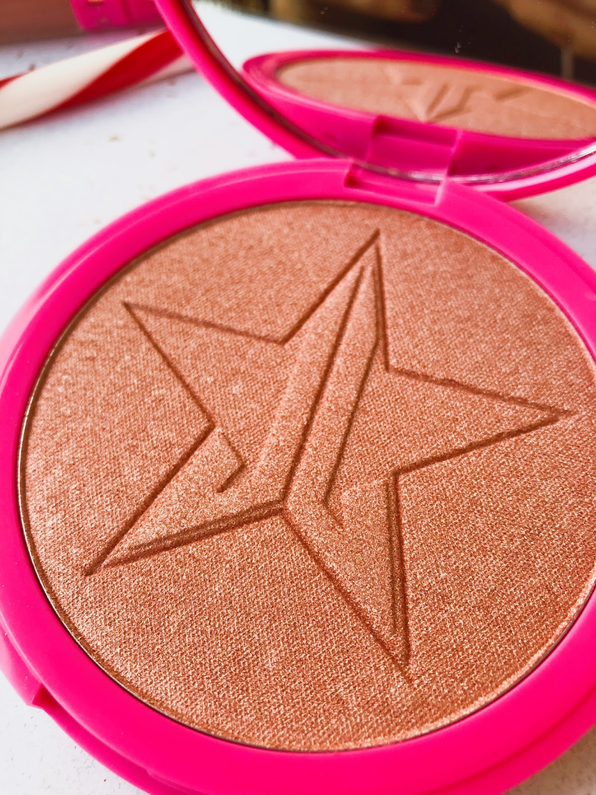 www.ourdubailife.com - Jeffree Star Haul Peach goddess Skin Frost