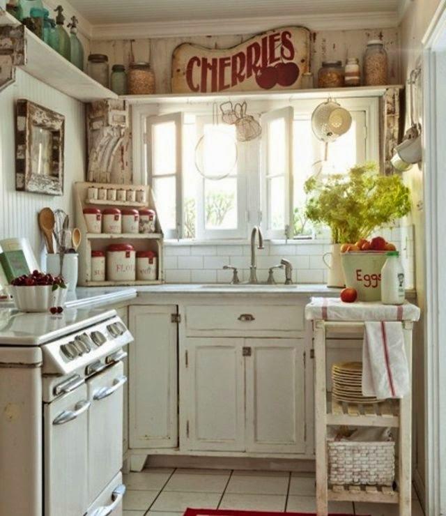 Decorar una cocina shabby chic colores en casa - Cocinas estilo shabby chic ...