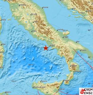 Σεισμική δόνηση 4,5 Ρίχτερ στην Ιταλία με δυο νεκρούς.