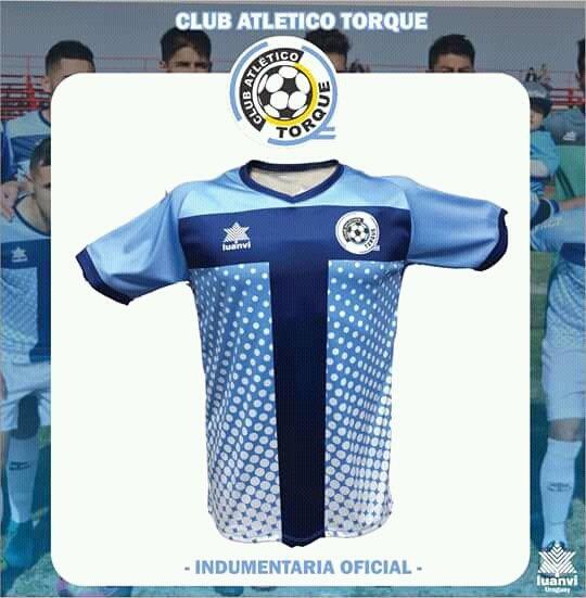 Luanvi lança a nova camisa titular do Club Atlético Torque - Show de ... 8e6aab2186204