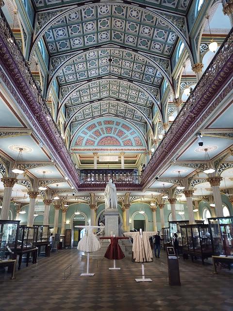Main forecourt inside Dr Bhau Daji Lad Mumbai City Museum