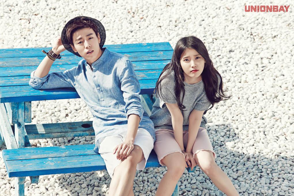 twenty2 blog: IU and Lee Hyun Woo for Unionbay Summer 2015 Ad ...