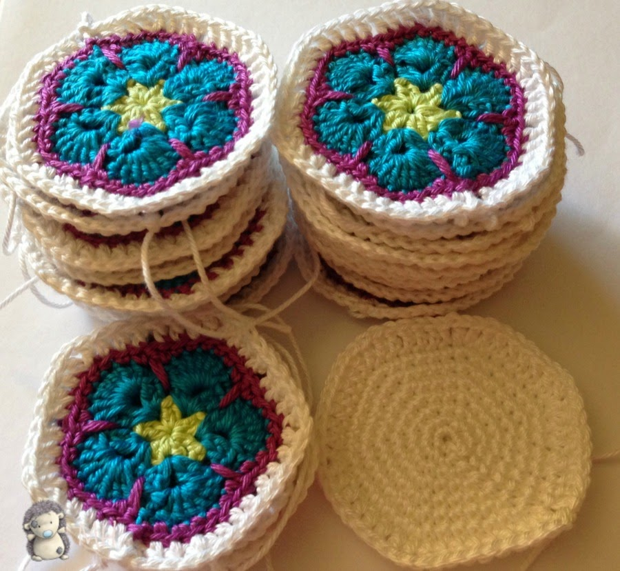 hexágonos y pentágonos a crochet